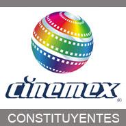 CINE - BOTON CINEMEX CONSTITUYENTES