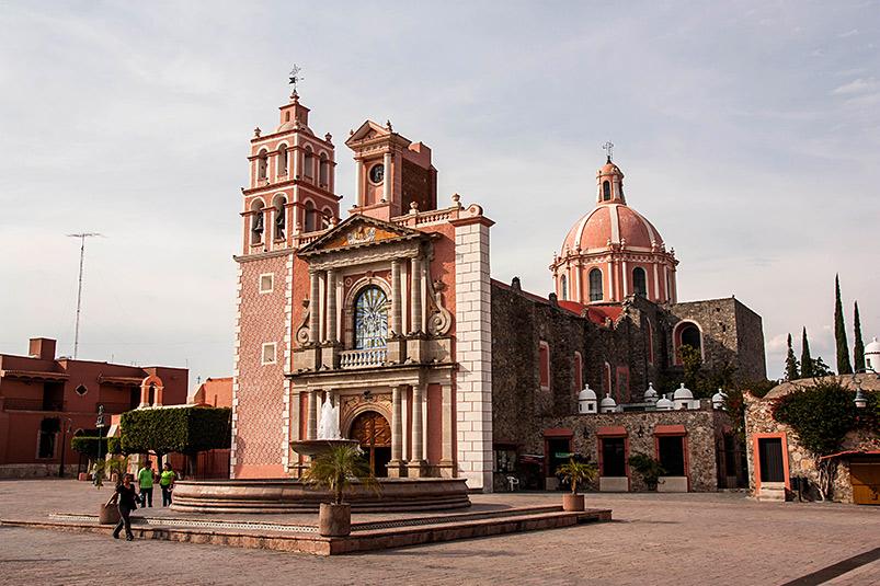 Tequisquiapan Plaza Principal