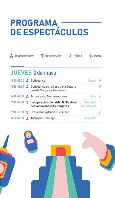 Festival de Comunidades Extranjeras - Programa 2019