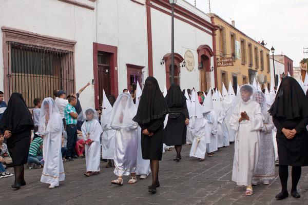 Procesión del Silencio Querétaro
