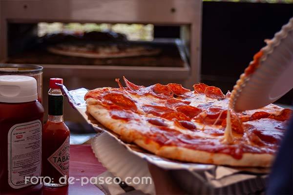 Cava 57 pizza