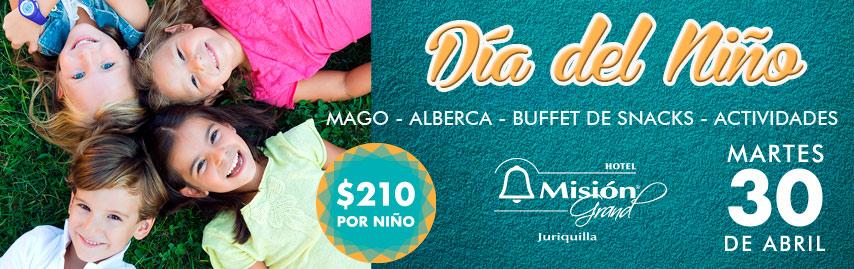Día del niño hotel Misión Juriquilla