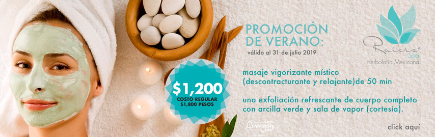 Raices Spa Promocion Julio 2019