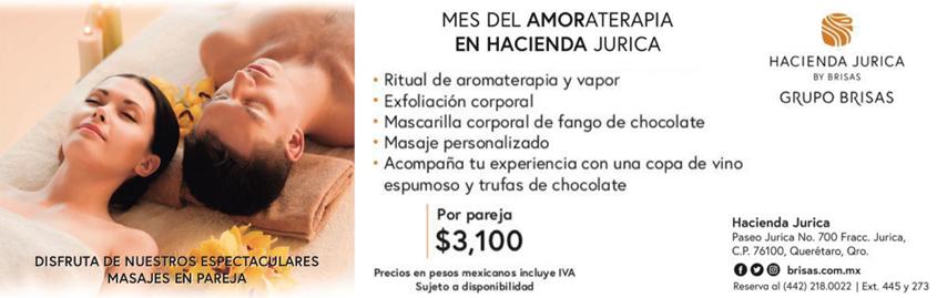 Spa Hacienda Jurica – paquetes febrero