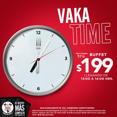 La Vaka Constituyentes - Vaka Time - Cupón