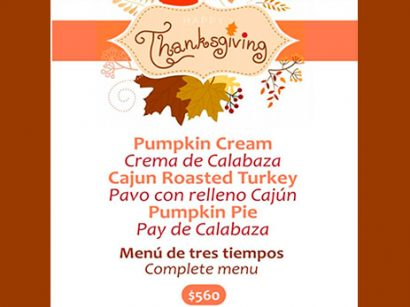 Thanksgiving en Hank's