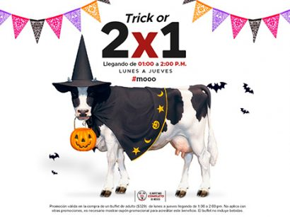 Trick or 2×1