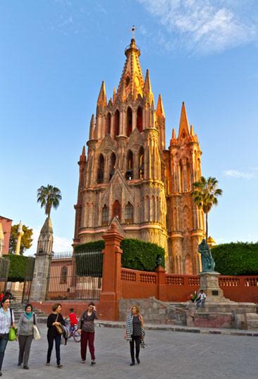 Parroquia zona Turismo San Miguel de Allende