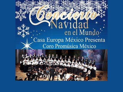 Concierto Navidad en el Mundo